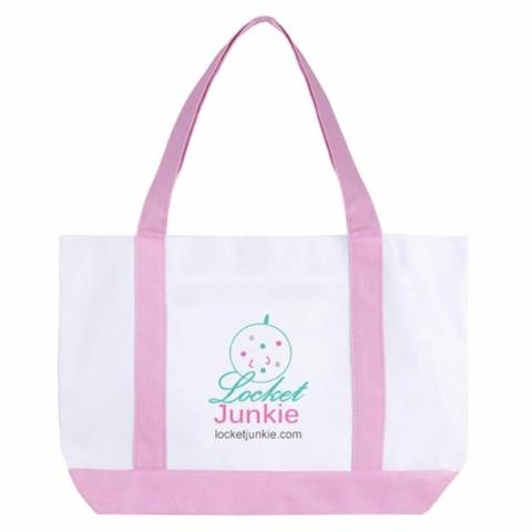 Locket Junkie Tote Bag - $20 {Consultant Use Only}