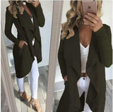 CARDIGAN COAT w/POCKETS