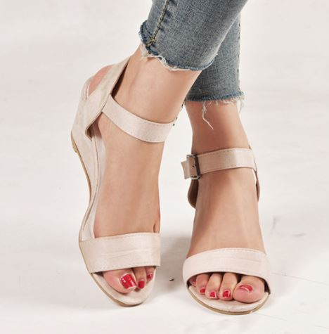WEDGE ME NOT SANDALS