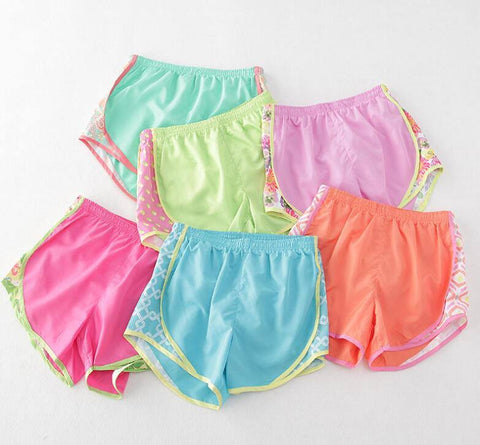 LADIES ATHLETIC SHORTS