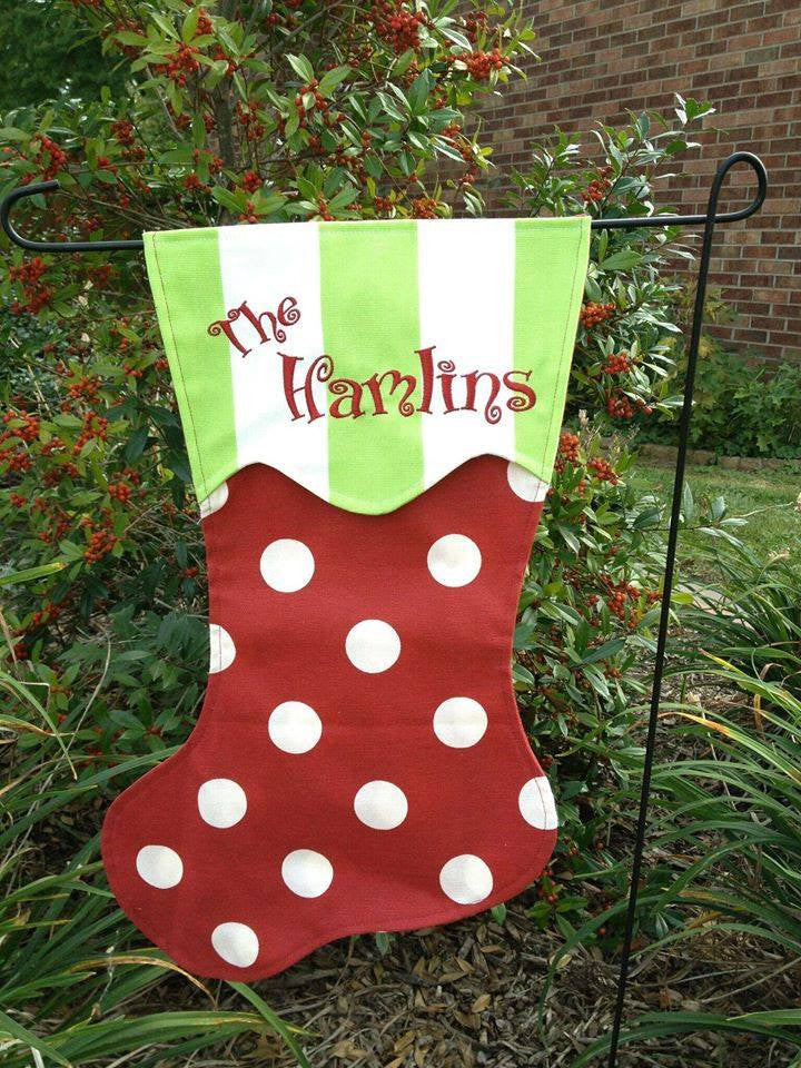 CHRISTMAS GARDEN FLAGS
