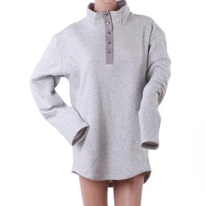 FLEECE PULLOVER TUNIC