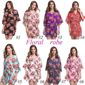 SOLID OR FLORAL ROBES