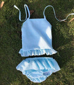 BOYS & GIRLS SEERSUCKER SWIMSUITS