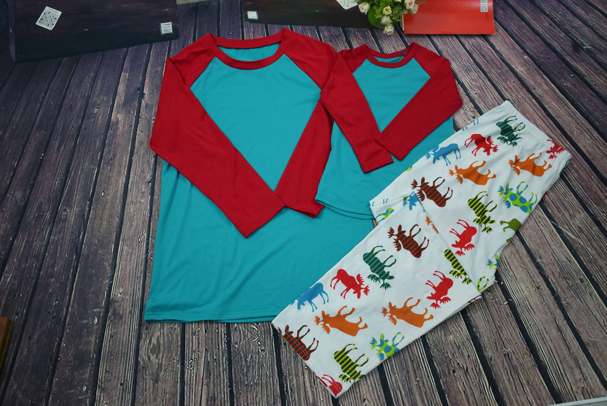 YOUTH MOOSE PAJAMAS