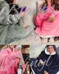 OVERSIZED HOODED SWEATSHIRT BLANKET