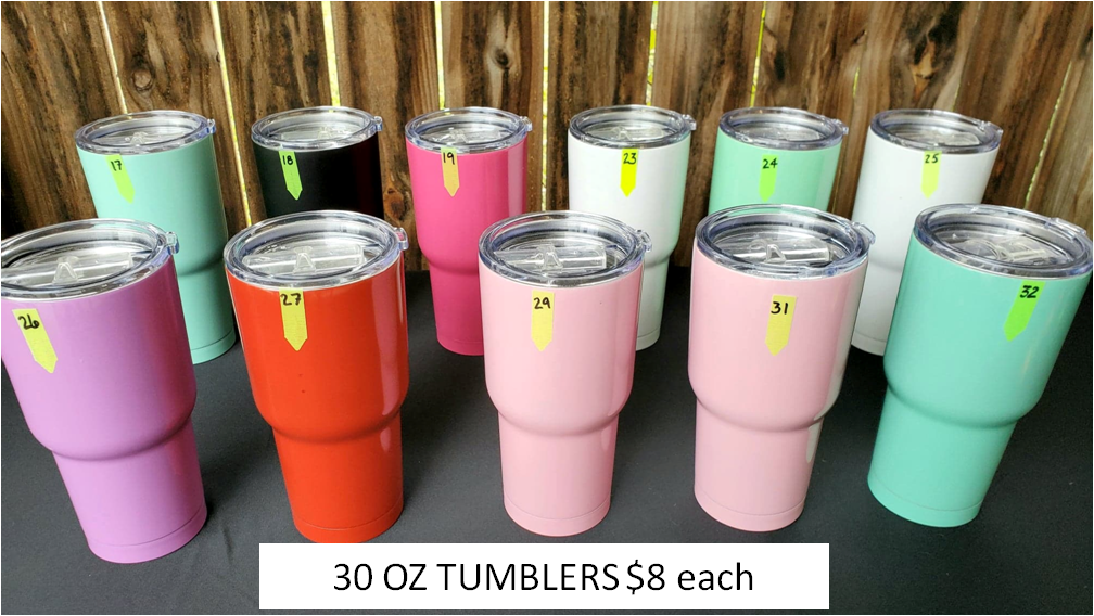 DOUBLE INSULATED TUMBLER DESTASH