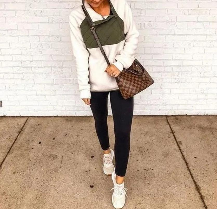QUILTED SHERPA PULLOVER