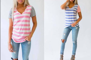 SUMMER DAY STRIPED TOP