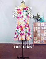 MAY FLOWERS SWING DRESS
