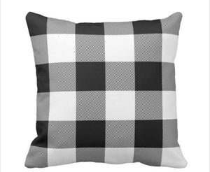 BUFFALO PLAID THROW PILLOW COVERS