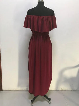 OFF THE SHOULDER MAXIS