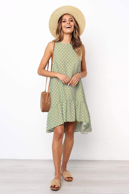 PLAY ALL DAY POLKA DOT DRESS