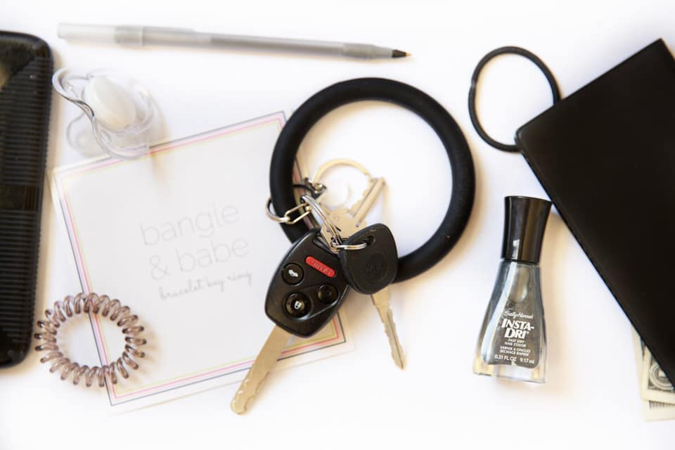 BIG O BANGLE KEY CHAIN