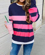 CHELSEA STRIPED PULLOVER