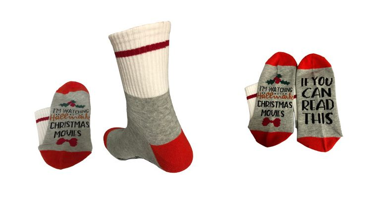 CHRISTMAS MOVIE SOCKS