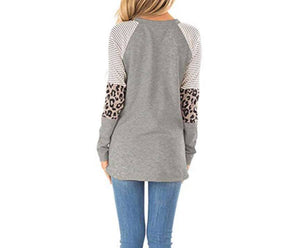 LEOPARD DETAIL TUNIC