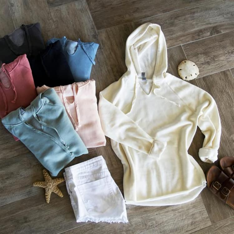 COZIEST HOODED PULLOVER