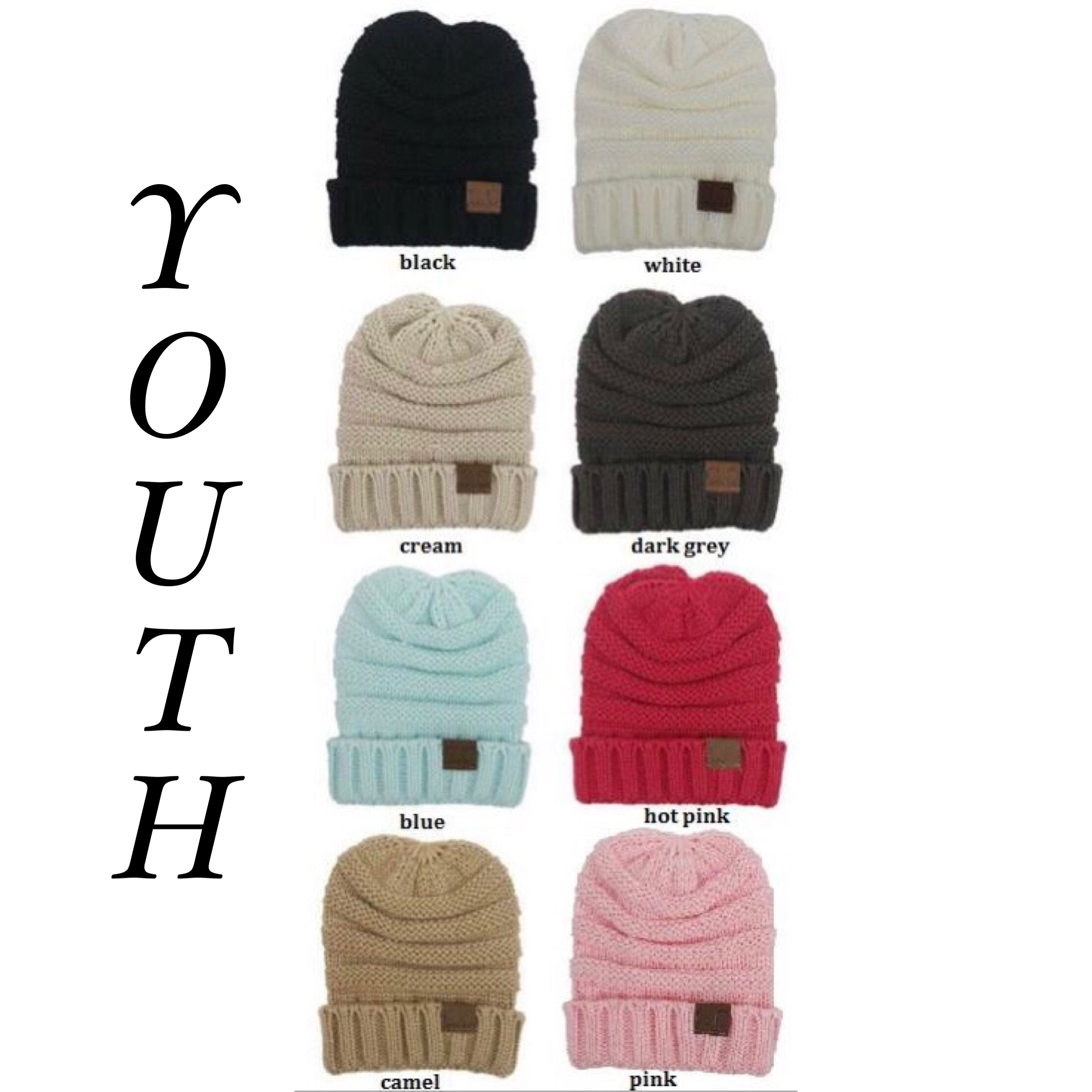 BEANIES - ADULT & YOUTH