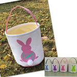 CANVAS EASTER BUNNY BUCKETS