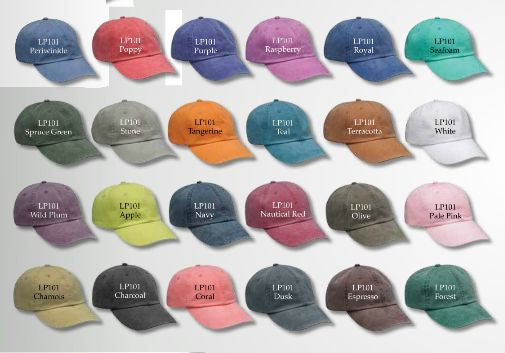COTTON TWILL PIGMENT DYED CAP