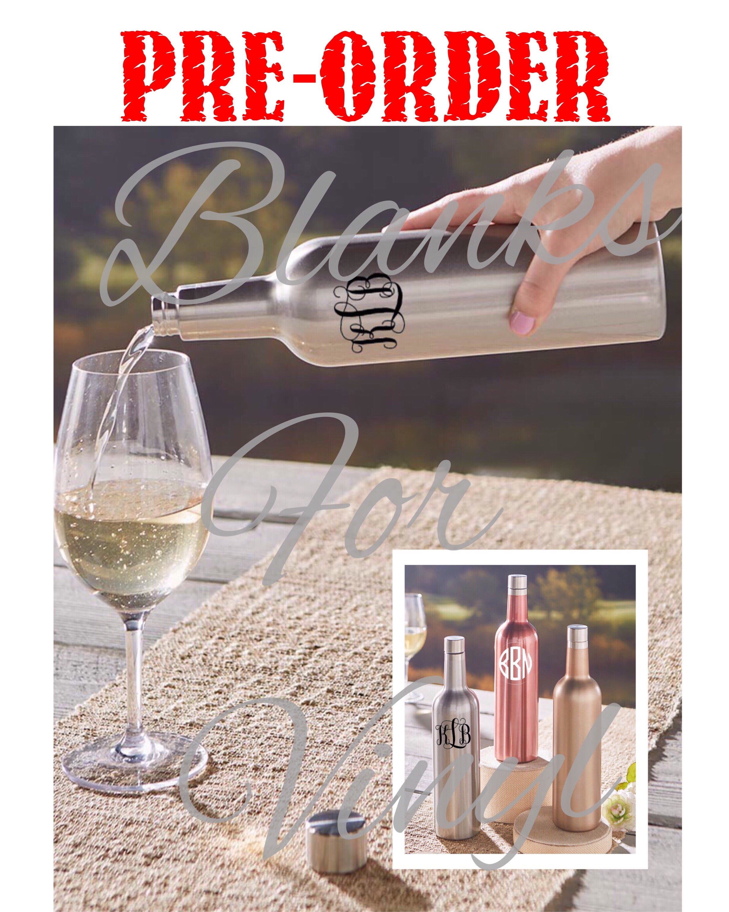 STAINLESS STEEL WINE BOTTLES