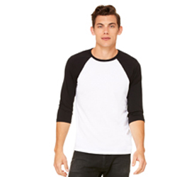 BELLA + CANVAS UNISEX RAGLAN
