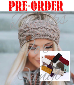 KNIT HEADBANDS - ADULT