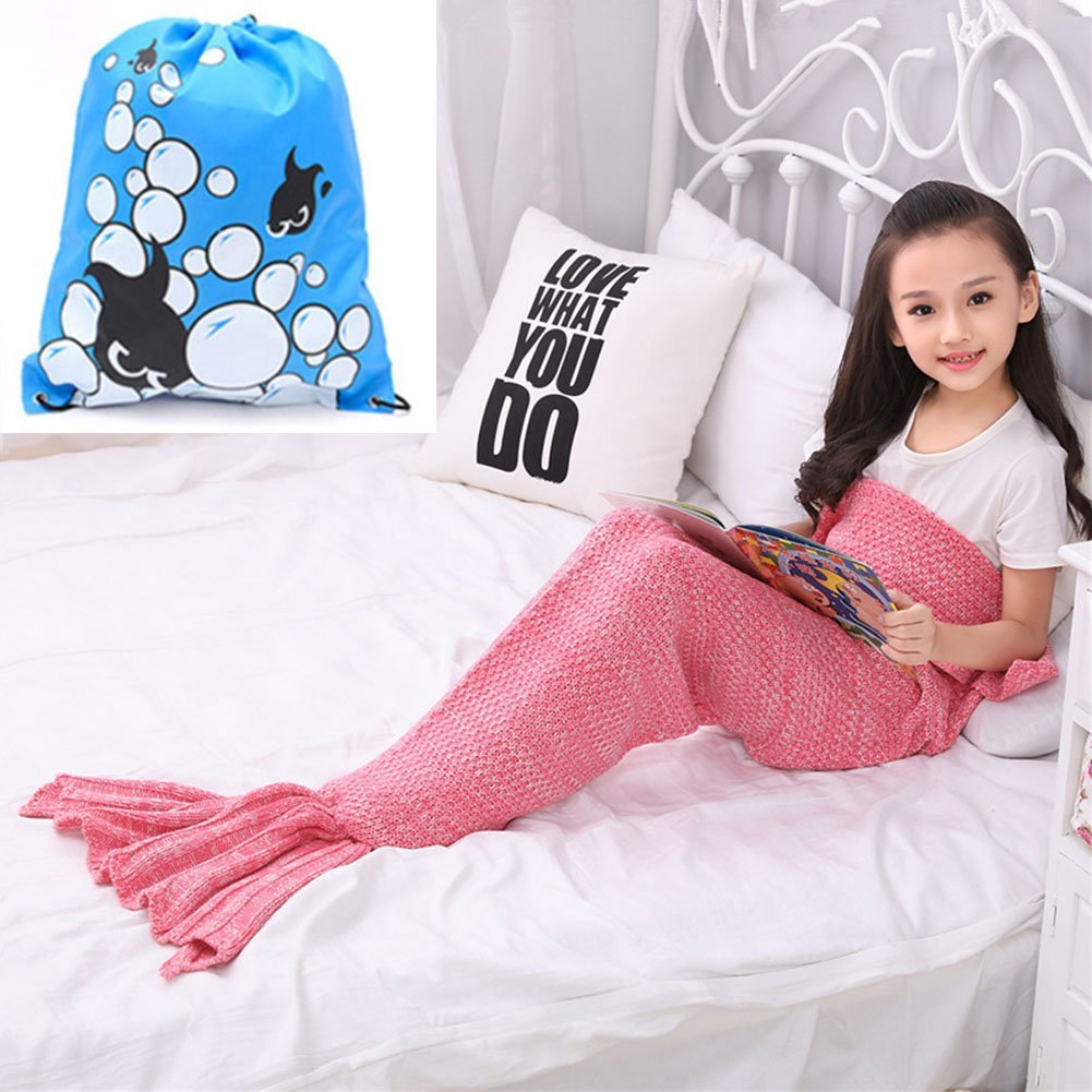 YOUTH MERMAID TAIL BLANKET