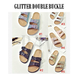 BUCKLE & T-BAR SANDALS