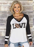 CRISS CROSS RAGLAN