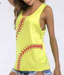SOFTBALL AND BASEBALL TANK TOP