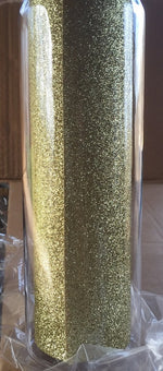 NOT PERFECT GLITTER WATER BOTTLE DESTASH