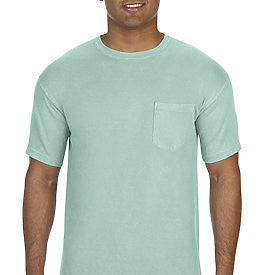 UNISEX COMFORT COLORS SHORT SLEEVE POCKET T-SHIRT