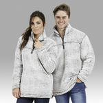 BOXERCRAFT 1/4 ZIP SHERPA PULLOVER
