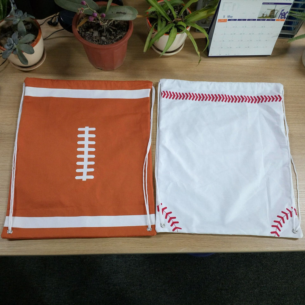 SPORTS THEME DRAWSTRING BAG