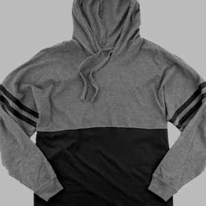 ADULT POM POM JERSEY WITH HOOD