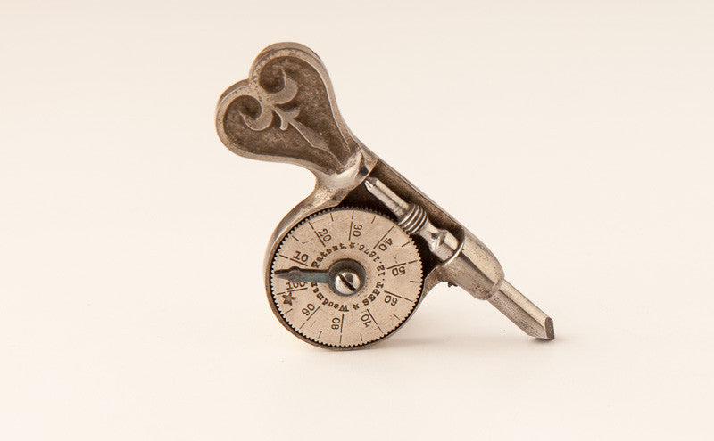 WOODMAN'S PATENT 3 1/2 inch Speed Indicator