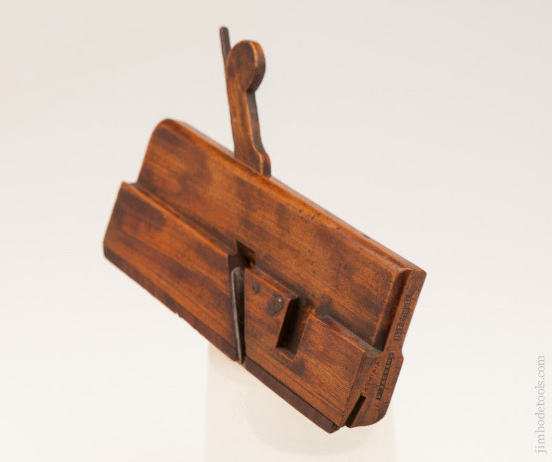 Unusual Snipe Bill Plane with Lignum Boxing and Provision for Stop(?) by B. FROGATT Birmingham circa 1760-90