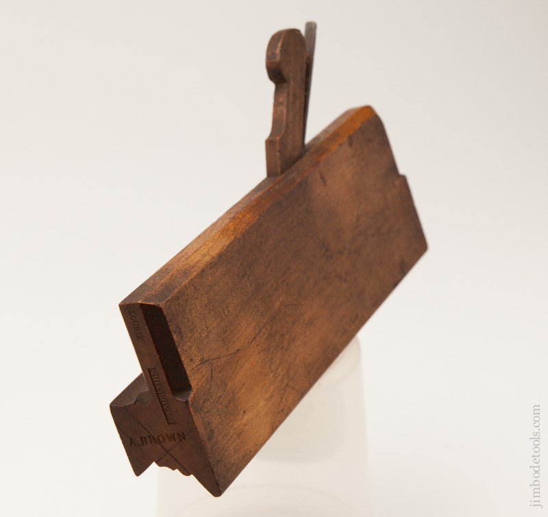 Extra-Fine Molding Plane with Unusual Profile by Ts. FAIRBAIRN