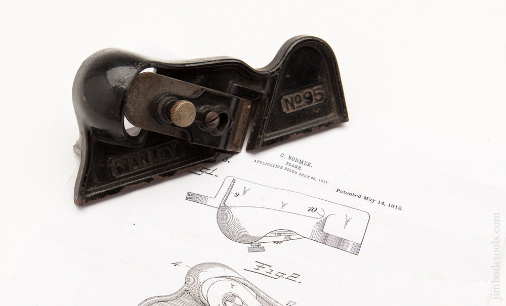 Fine STANLEY NO. 95 Edge Trimming Block Plane