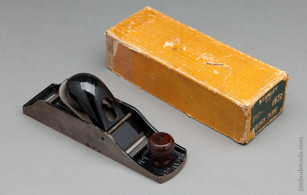 STANLEY NO. 130 Block Plane in its Original Box