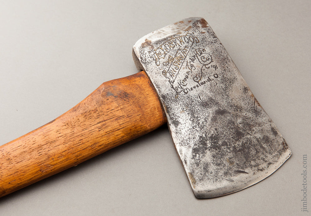 Embossed Axe by LOCKWOOD TAYLOR