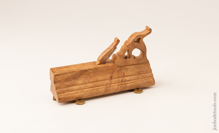 Stunning Miniature of an Early Dutch Plow Plane by W.J. BAADER NOV. 1996