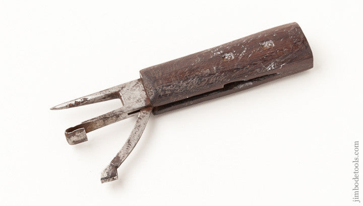 Early 6 1/4 inch Race Knife by TIMMONS & SONS