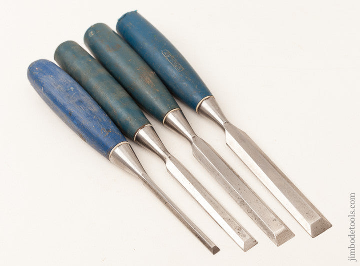 Four STANLEY Chisels