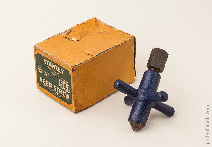 STANLEY No. 541 Feed Screw MINT in Original Box
