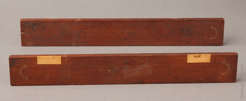 12 1/2 inch Mahogany Winding Sticks