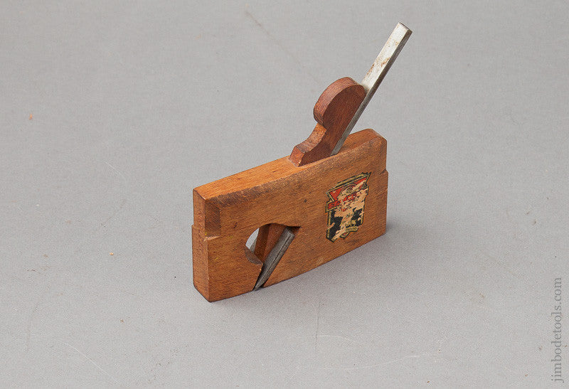 Miniature 3 1/2 inch Rabbet Plane By SALMEN with Original Decal