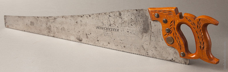 26 inch 9 point Crosscut WINCHESTER No. 10 Hand Saw